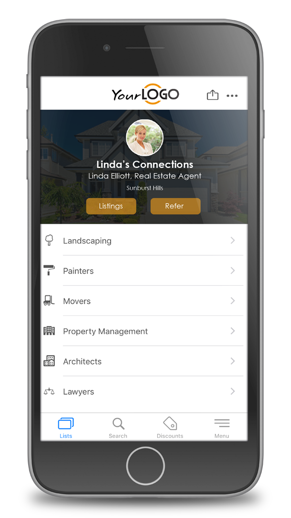 real estate referrals app